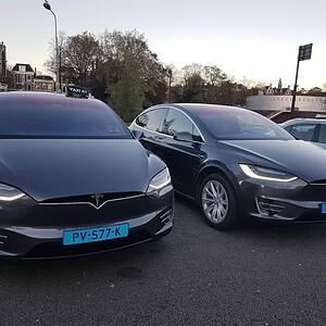 Tesla Taxi Groningen